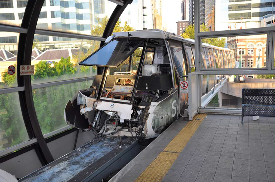 Rail Safety Investigation Report - Monorail Collision, Darling P