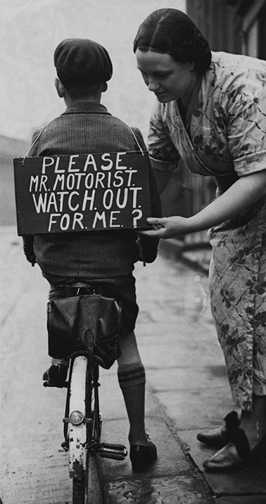 Please Mr Motorist Watch Out For Me, 1937